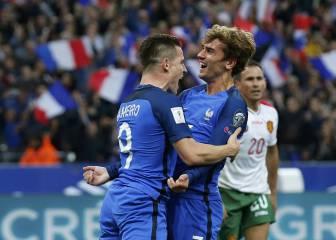 Gameiro y Griezmann también se salen con Francia