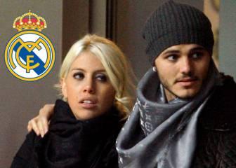 Wanda Nara confiesa el interés del Real Madrid en Mauro Icardi