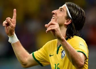 Filipe marcó con Brasil su primer gol del ejercicio