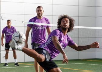 Casemiro, Modric y Coentrao siguen al margen del grupo