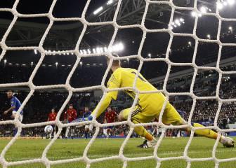 ¿Avisó Morata a De Gea de la dirección del penalti de Italia?