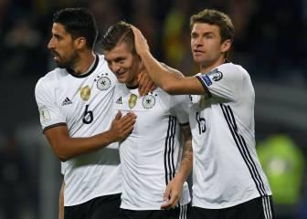 Kroos lidera la cómoda victoria alemana ante Chequia