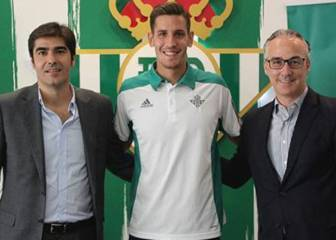 Happy days for Alegría who pens new Betis contract