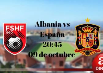 Albania-España resultado, resumen y goles
