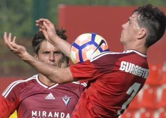 El Mirandés rescata un punto valioso ante el Lugo