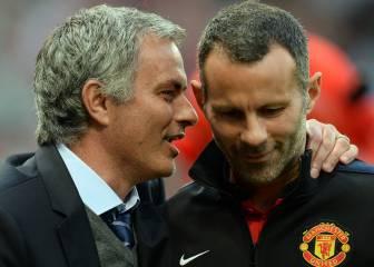 Giggs no olvida su marcha del United y da consejos a Mourinho