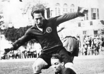 La selección de Euskadi parte para América (1937)