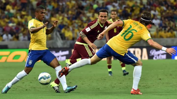 Cómo y dónde ver el Venezuela vs Brasil: Horarios y TV online
