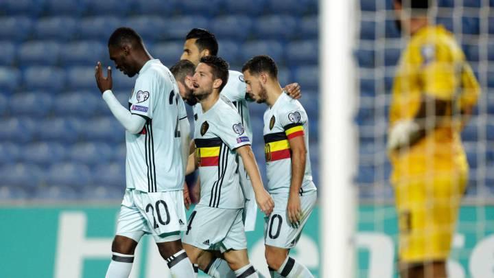 Bélgica se da un homenaje con récord mundial incluido