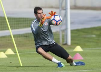 Iraizoz jugará su último derbi ante la Real en San Mamés