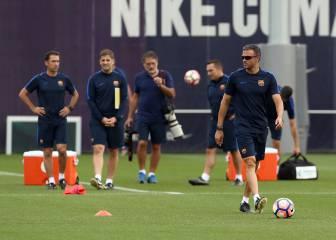 El Barcelona vuelve esta tarde a los entrenamientos