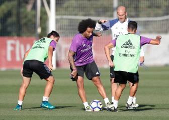 Zidane ya prepara el Betis-Madrid con 10 de sus 15 internacionales