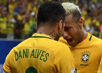 Neymar y y Alves no querían jugar en Brasil con Dunga