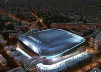 Así quedará el Santiago Bernabéu