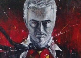 Mourinho se niega a firmar un retrato suyo para Unicef