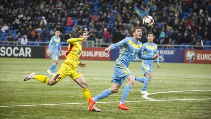 Kazajstán aguanta el paso y empata ante Rumanía