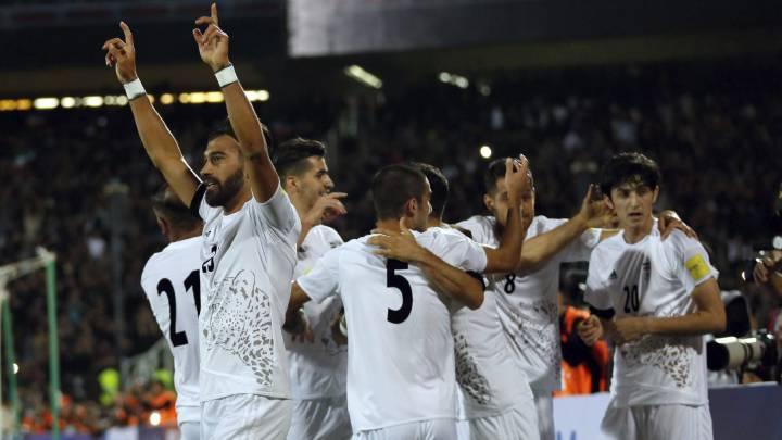 Irán y Uzbekistán ganan y se acercan al Mundial de Rusia