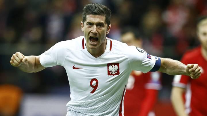 Lewandowski sale al rescate para dar la victoria a Polonia