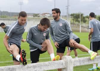 El Athletic no descarta a Beñat para el derbi del domingo