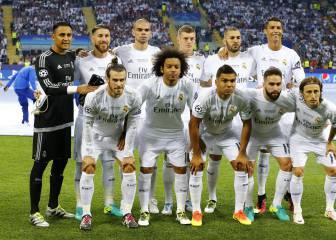 Zidane sólo pudo alinear a su once de gala en cuatro partidos