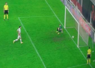 El penalti a lo Panenka de Trashorras en la tanda fue gol