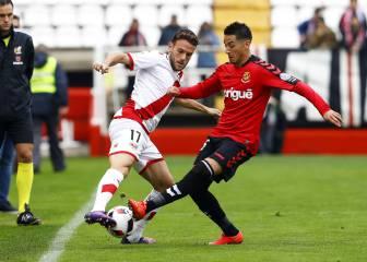 El Nàstic elimina al Rayo de la Copa en la tanda de penaltis