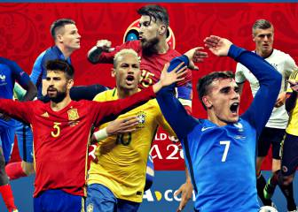 La jornada FIFA en 20 nombres: Cristiano, Neymar, Griezmann...