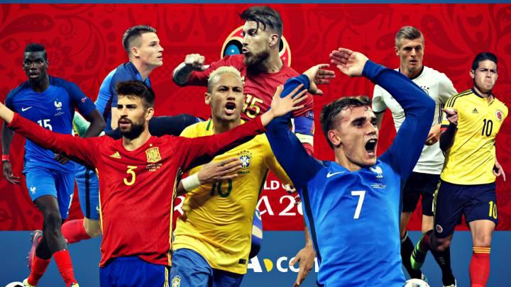Los partidos FIFA en 20 nombres: Cristiano, Neymar, Griezmann...
