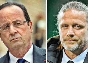 François Hollande insulta a los futbolistas y Petit le contesta