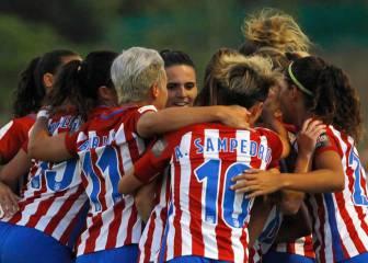 El Atlético golea 0-7 al Tacuense y es líder de la Liga Iberdrola