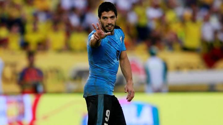 Suárez, máximo goleador histórico de las clasificatorias