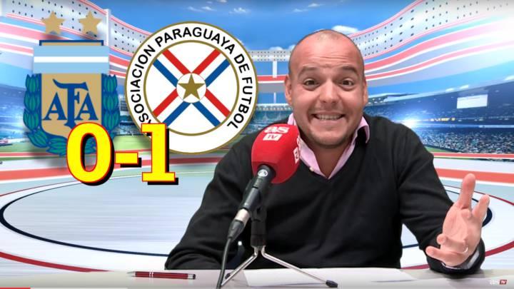 Vídeo: el análisis del Argentina 0-1 Paraguay en las eliminatorias