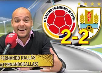 Vídeo: análisis del Colombia 2-2 Uruguay en las eliminatorias