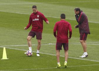 Simeone empieza a recuperar: Carrasco, Gameiro y Griezmann