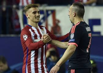 Antoine Griezmann not yet world class, says Franck Ribery