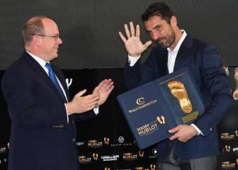 Buffon se rinde a Zidane: