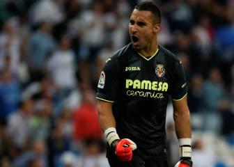 Asenjo jugará ante el Celta su partido 100 con el Villarreal