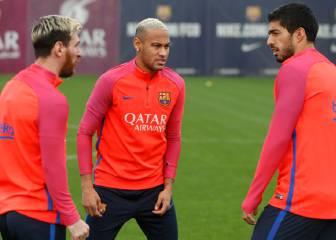 Suárez, Mascherano y Ter Stegen ya se entrenan de cara al Depor