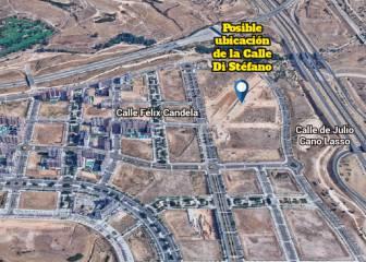 El Ayuntamiento dedica a Di Stéfano una calle menor