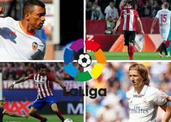 Lesionados y sancionados de la jornada 8 de la Liga Santander