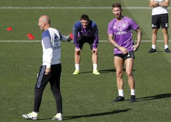 Zidane sabe sobrevivir sin Ramos: nunca perdió sin él