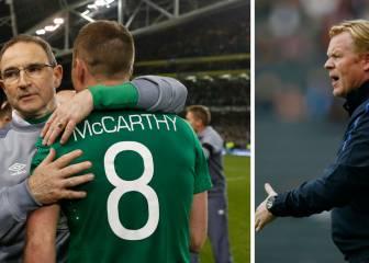 """Koeman explota contra Irlanda: """"Estáis matando a mi jugador"""""""