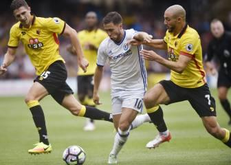La advertencia de Hazard a Conte sobre su posición