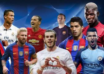 Los diez mejores futbolistas del planeta para Daily Mail