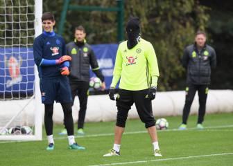 La última de Diego Costa: ¡Entrena como un ninja!