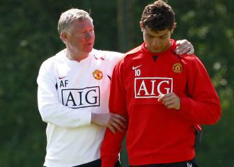 Ferguson intentó que Cristiano Ronaldo fuese al Barcelona
