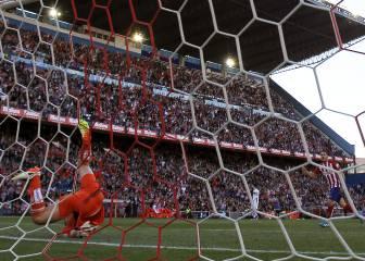 El Granada perdió en 15 de sus 16 visitas al Vicente Calderón