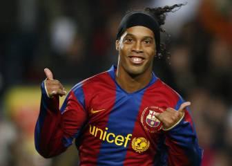 Ronaldinho lucirá la camiseta del Barça como embajador