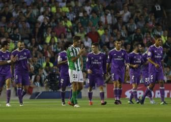 Betis-Real Madrid en imágenes