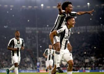 La Juventus remonta al Udinese con un doblete de Dybala